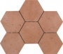 Hexagono Limoges Cotto